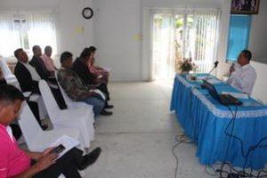 ประชุมคณะทำงานด้านการบริหารจัดการขยะมูลฝอยระดับ อปท